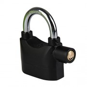 Ecoolbuy Bike MTB Motorcycle Motion Sensor Waterproof Security Alarm Lock Padlock