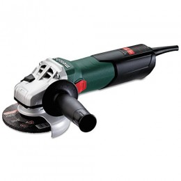 Metabo W9-115 8.5 Amp 10,500 rpm Angle Grinder with Lock-On Sliding Switch, 4...