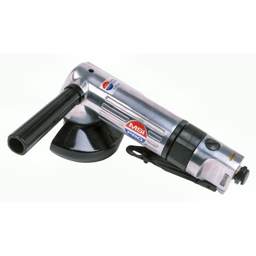 "ANGLED AIR GRINDER - MSI PRO Heavy Duty Aluminum Body 0.65HP 12,000RPM - 9""L ..."