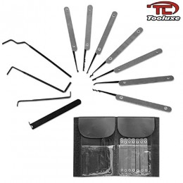 Professional 11pc Key Extractor Lock Pick Set